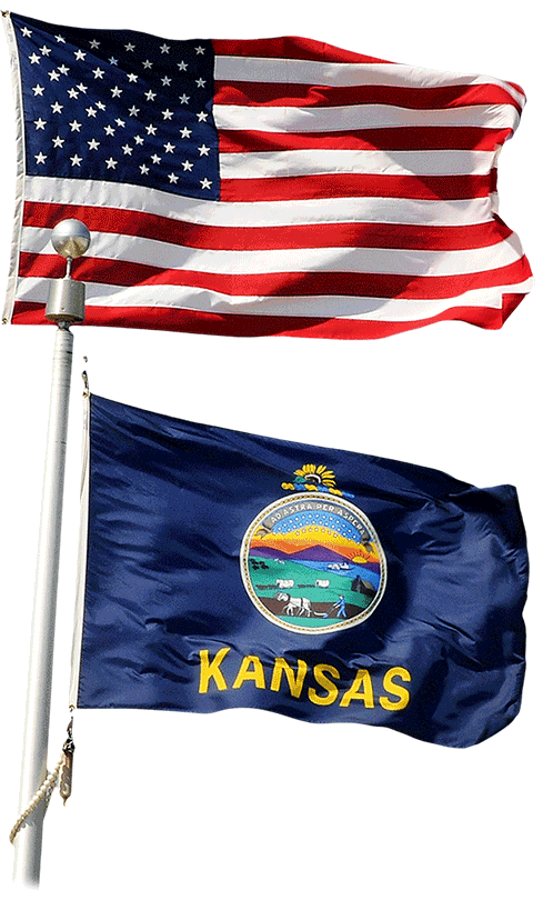 Governor Jeff Colyer orders flags to be flown at half-staff in recognition of Patriot Day