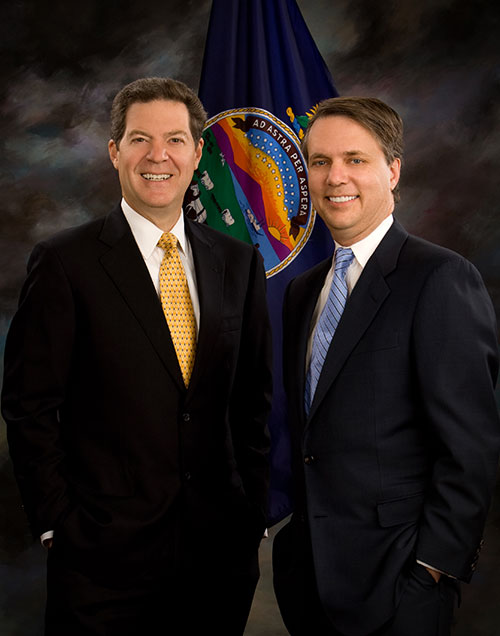 Governor Brownback and Lt Governor Jeff Colyer