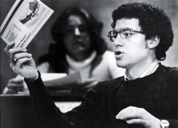 Sam Brownback in high school