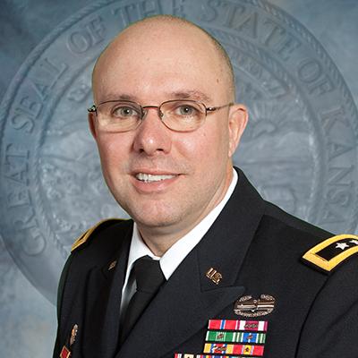 Maj. Gen. (KS) Lee Tafanelli