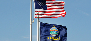 Governor Jeff Colyer orders flags flown at half-staff  Monday August 27 in honor of Senator John McCain