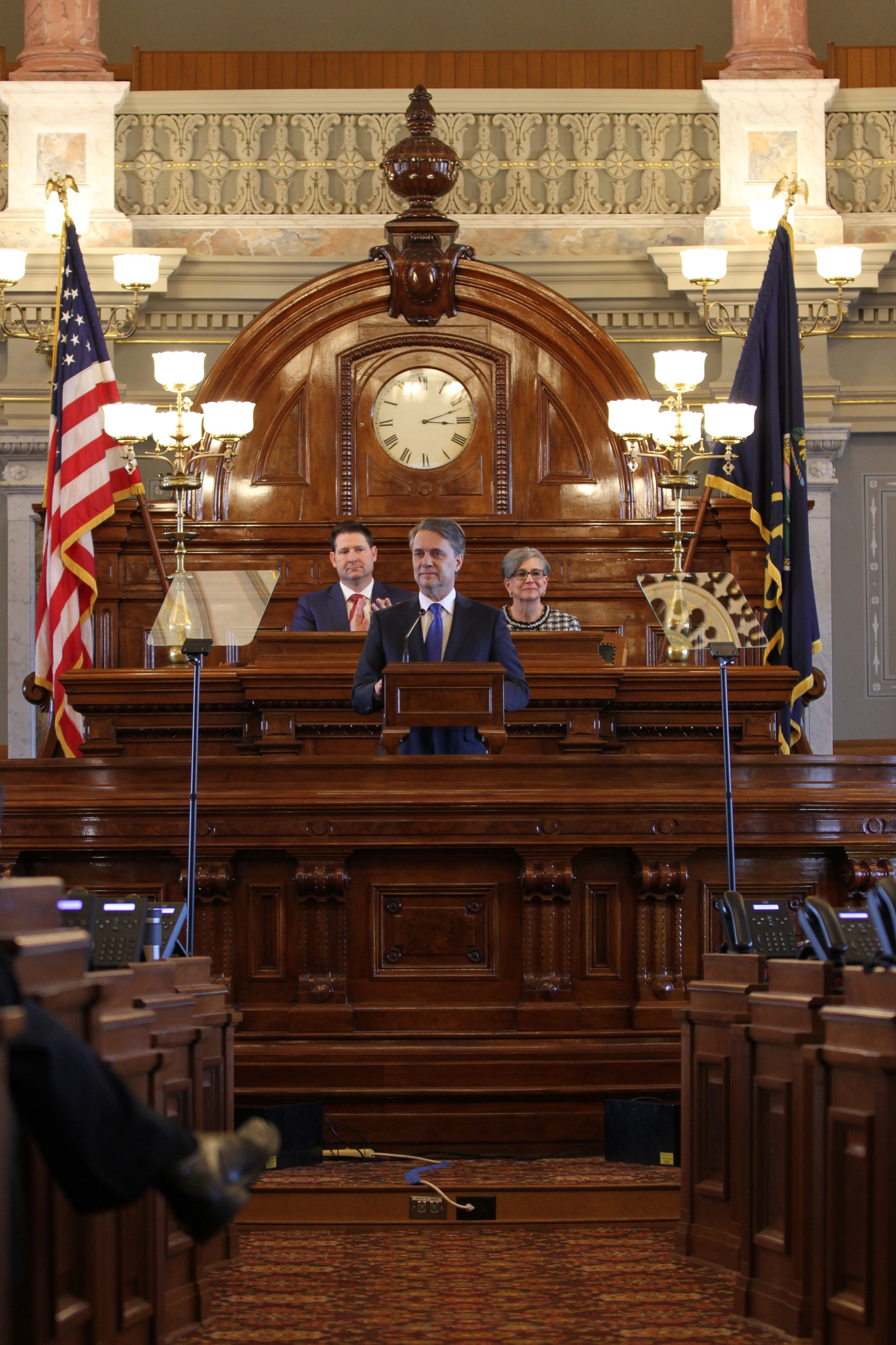 Governor Jeff Colyer, M.D. Gives Joint Address to Kansas Legislature