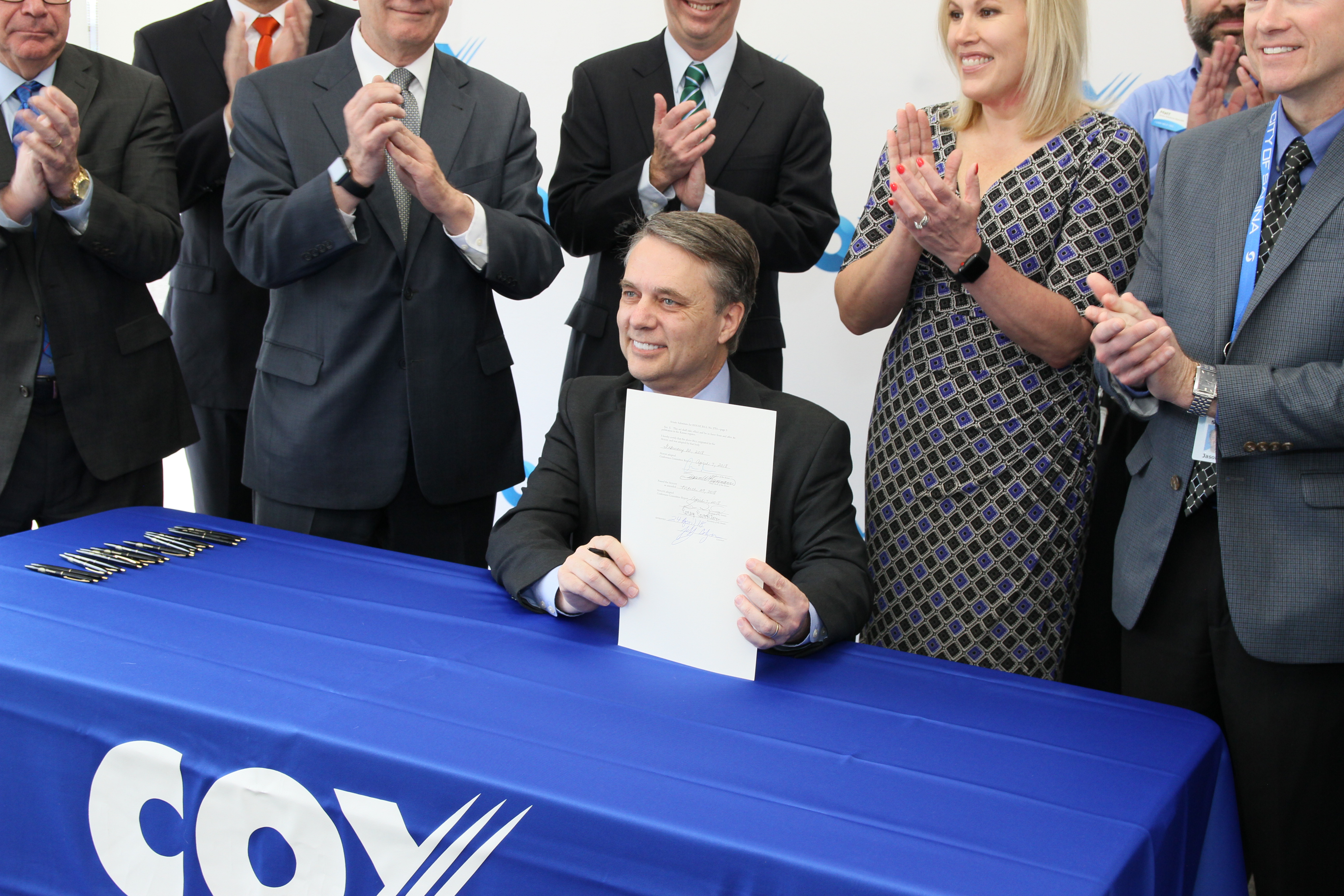 Governor Jeff Colyer Signs Senate Substitute for HB 2701 into Law Creating Broadband Expansion Task Force