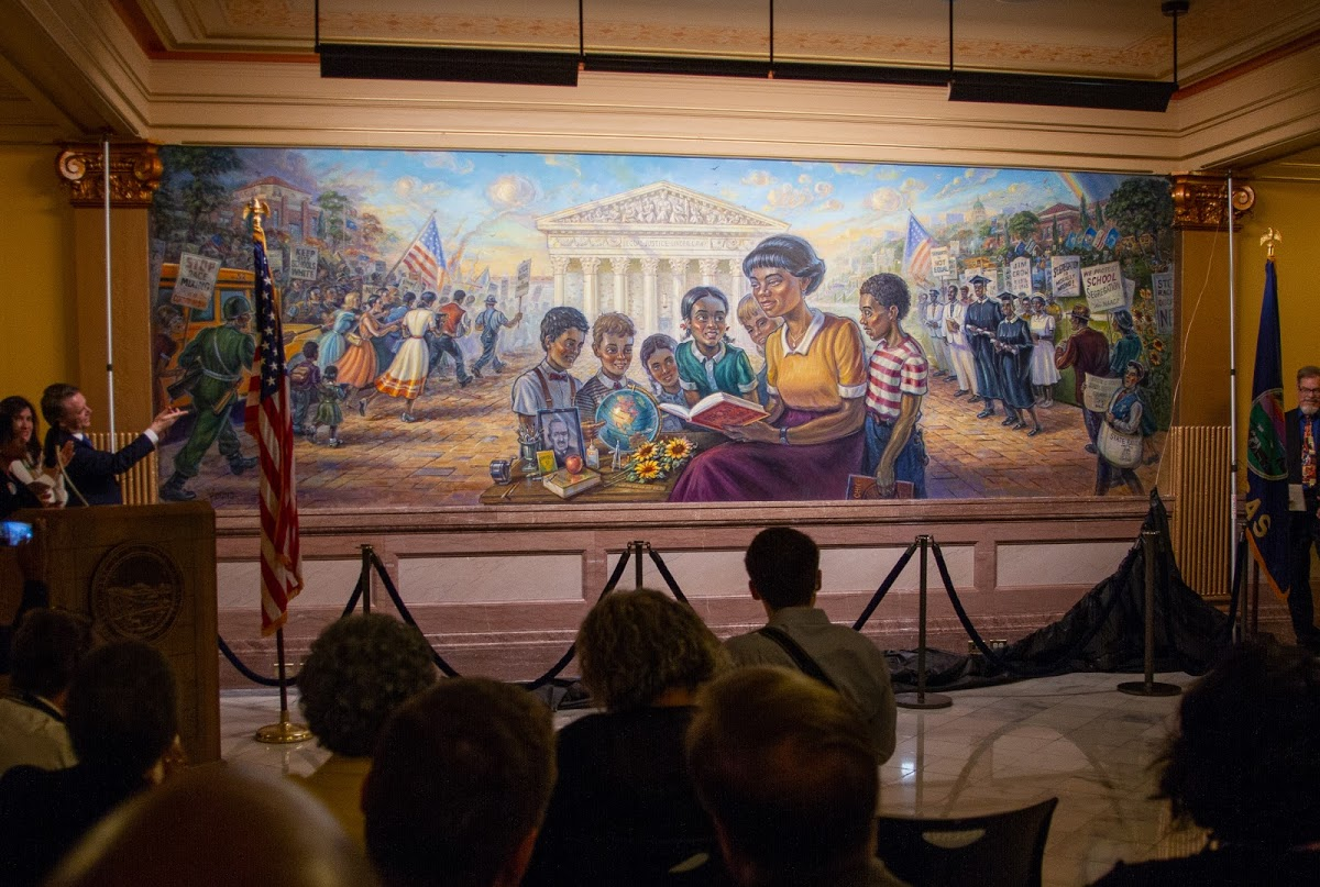 Governor Colyer Remarks on the Unveiling of Brown v. Board of Education Mural in Capitol