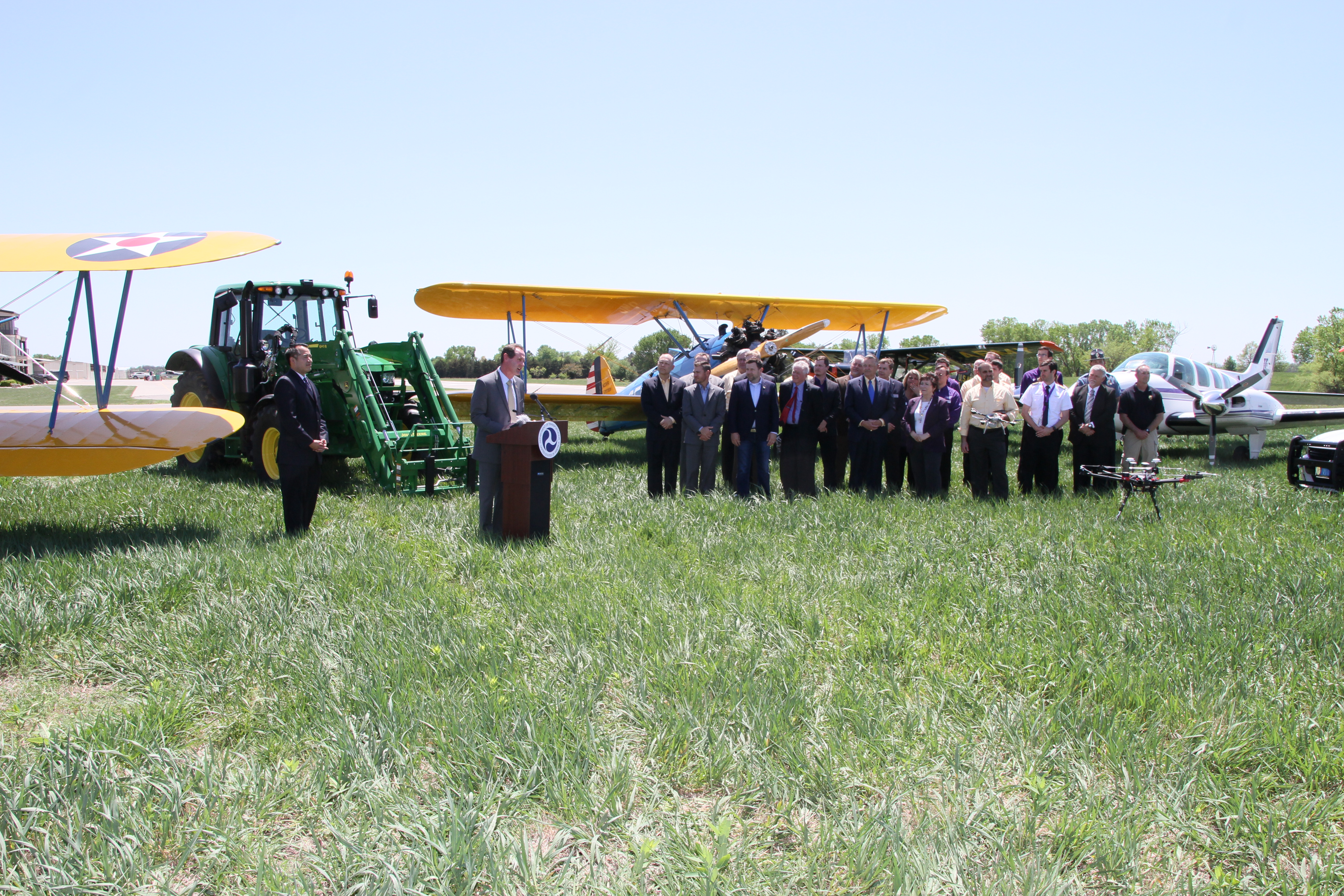 U.S. Department of Transportation Selects Kansas As Participant in Unmanned Aircraft Systems Integration Pilot Program