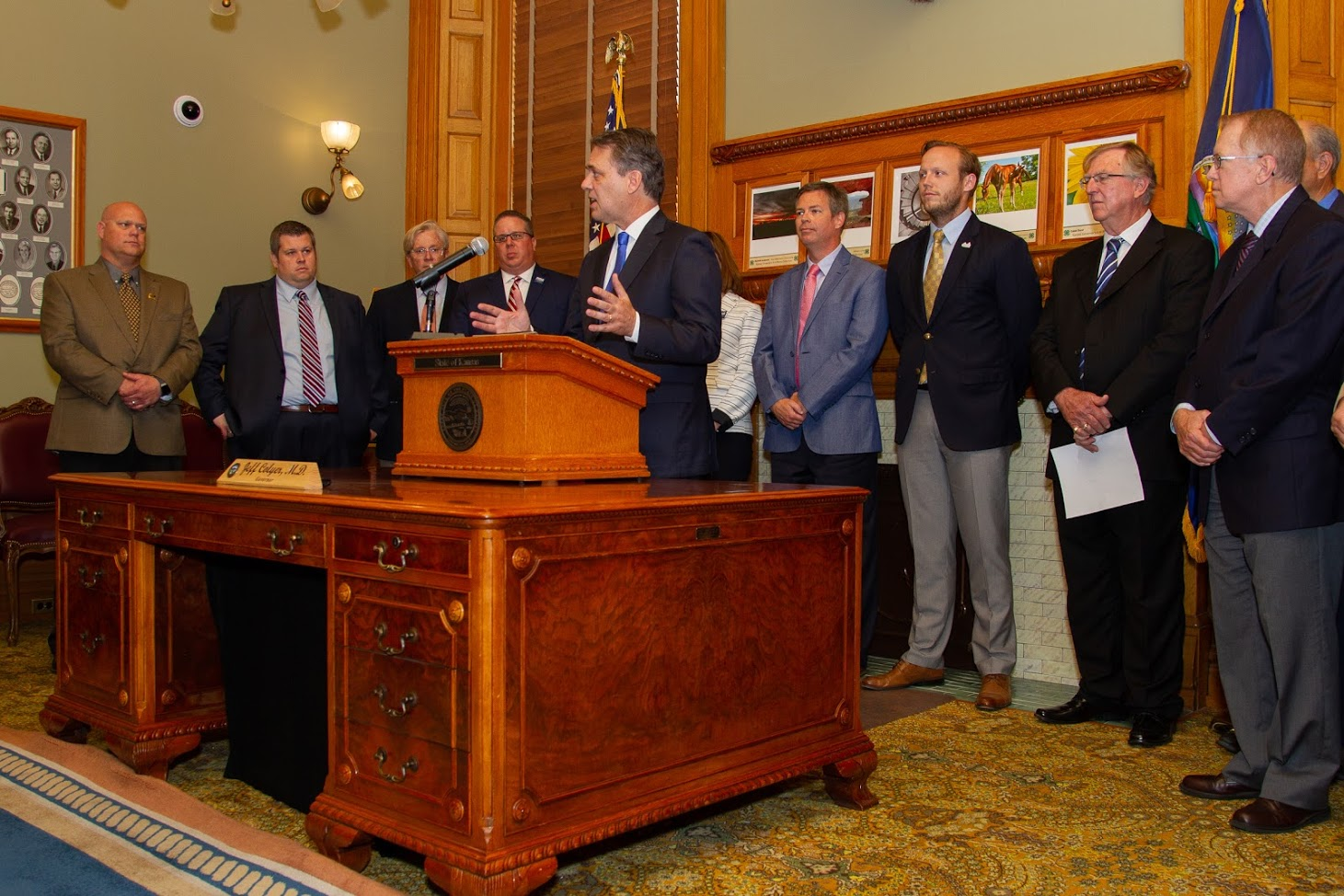 Governor Colyer, KDOT Announce Local Projects Funding Improvements