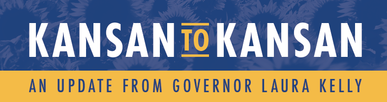 Kansan to Kansan Newsletter: An Update from Governor Laura Kelly – September 21, 2020