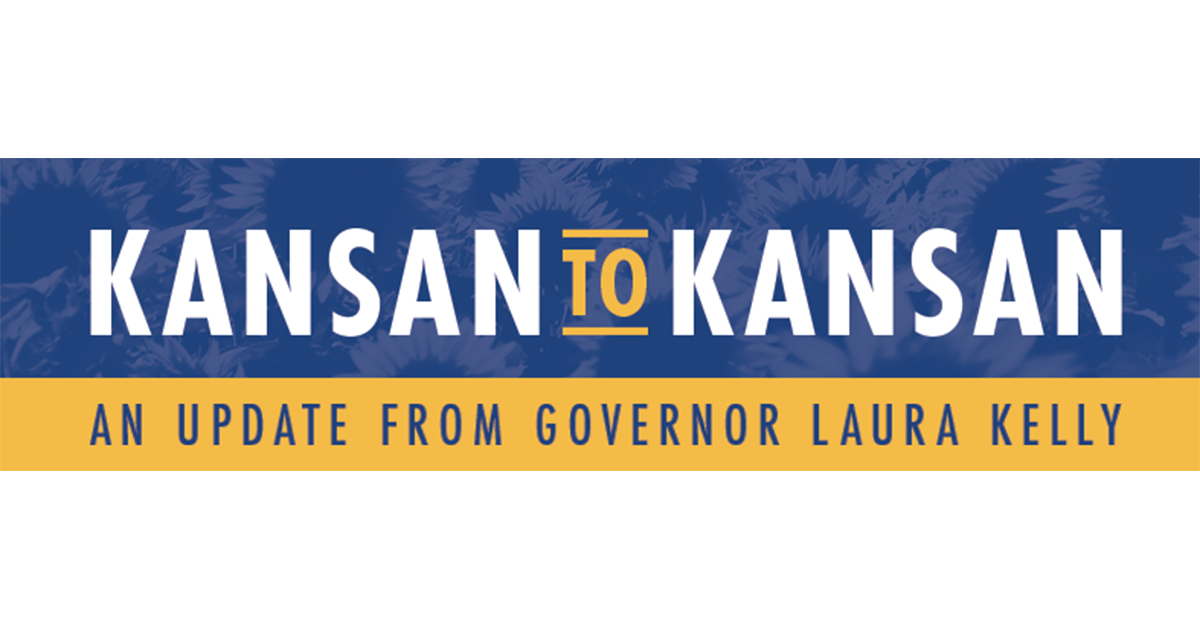 Kansan to Kansan Newsletter: An Update from Governor Laura Kelly – November 16, 2020