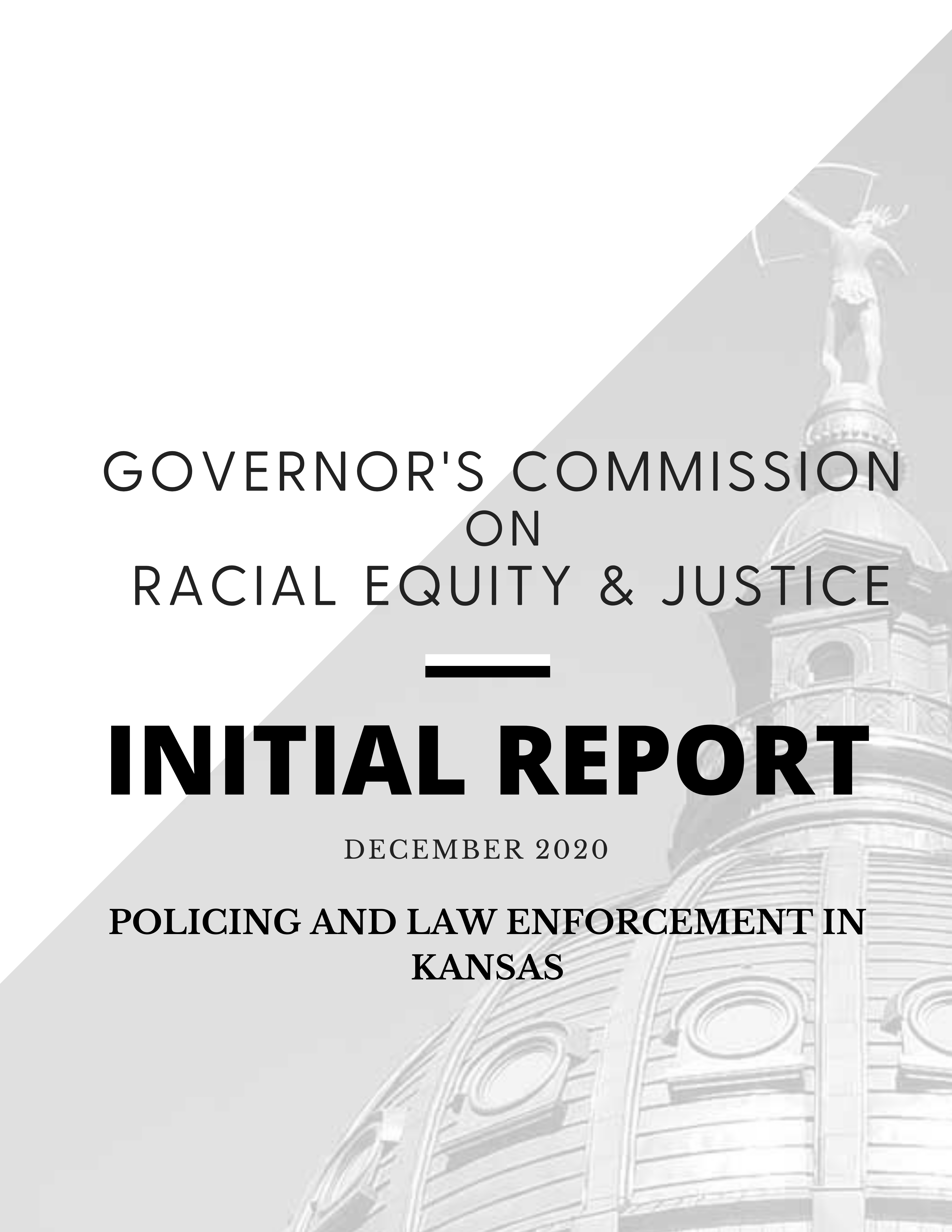 Commission Report — Policing & Law Enforcement in Kansas